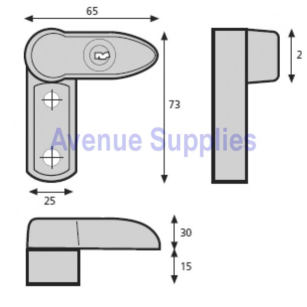 Window Lock Dimensions