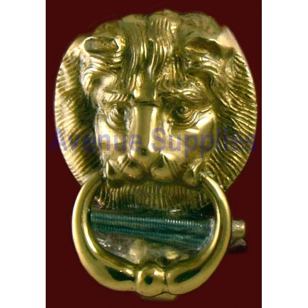 Door Knocker Lions Head Design