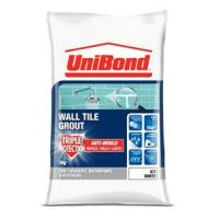 Tile Grout Powder Unibond Water Resistant White 1.5Kg