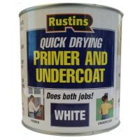 Primer And Undercoat Paint For Wood White 1000ml