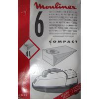 Vacuum Cleaner Bags Moulinex Compact 7PC