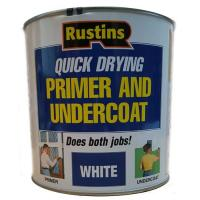 Primer And Undercoat Paint For Wood White 2.5l