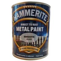 Direct to Rust Metal Paint Smooth Silver 750ml