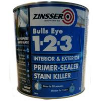 Interior And Exterior Primer Sealer Stain Killer PLUS 1-2-3 1l