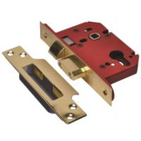 Euro Profile Mortice Lock Case Sashlock Brass 68mm / 2-1/2""