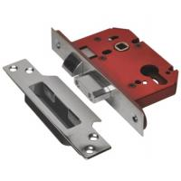Euro Profile Mortice Lock Case Sashlock Stainless Steel 81mm / 3""
