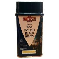 Liquid Wax Polish Black Bison Clear 500ml