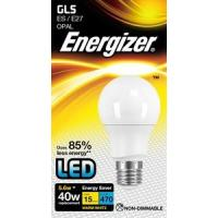 LED Bulb GLS Style Non Dimmable Frosted Warm White / 2700K ES / E27 470LM / 40W