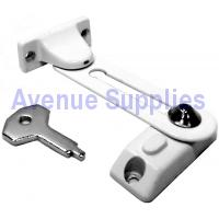 Casement Window Child Safety / Window Restrictor Lock White
