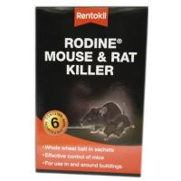 Rodine Mouse and Rat Killer 6 x 50g