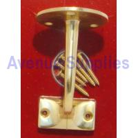 Handrail Bracket Brass 63mm