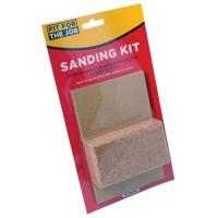 Sanding Sheets And Cork Sanding Block