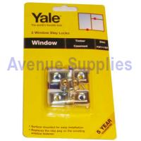 Casement Window Stay Lock Zinc 2PC