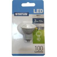 LED Reflector Lamp 12v MR11 GU4 2w / 100 Lumens