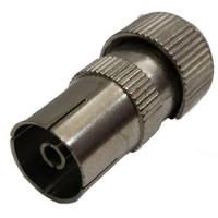 Coaxial Cable End Connector Female Socket