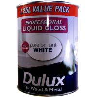 Wood And Metal Brilliant White Paint Gloss 1.25l