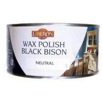 Wood Paste Wax Polish Black Bison Neutral 500ml