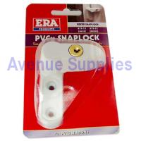 PVCu Window Snaplock Keyed White