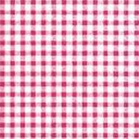Sticky Back Plastic Small Checkered Design Red 450mm x 15m