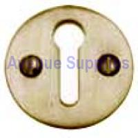 Open Escutcheon Polished Brass Victorian 32mm
