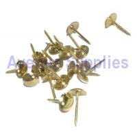 Upholstery Nails Brass 30PC