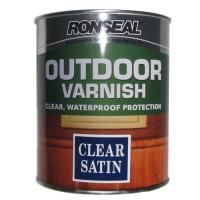 Exterior Varnish Clear Satin 750ml