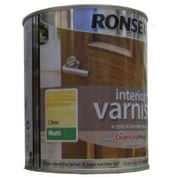 Interior Quick Drying Varnish Clear Matt 750ml